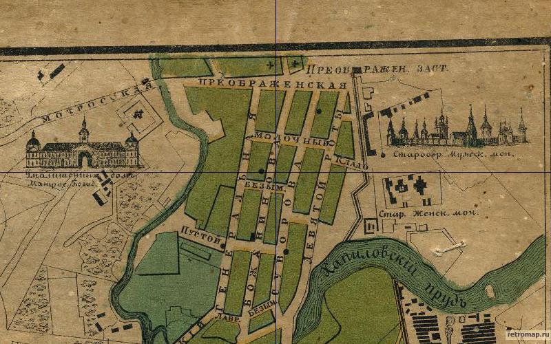 План столичного города Москвы, 1878 г.