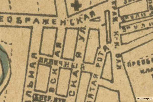 План гор. Москвы 1921 г.